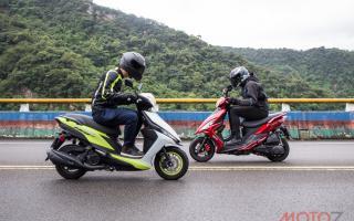 科技钢炮、舍我骑谁:雅马哈 RS NEO 125 vs 光阳 VJR 125