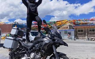 36天12000公里——新手女骑士的TRK502X西藏独行计划