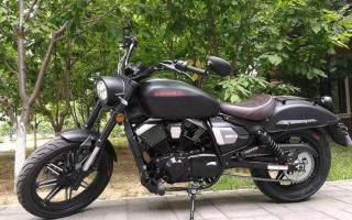排气声浪好听的国产摩托,4万元以内最优选,V型双缸性能不俗