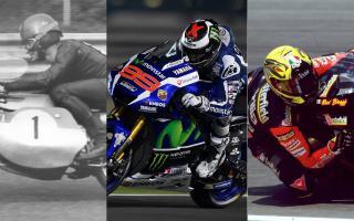 Jorge Lorenzo与Max Biaggi、Hugh Anderson一同晋升传奇车手