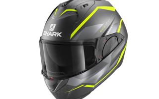 另类揭面盔:鲨鱼(Shark)推出EVO-ES模块化头盔