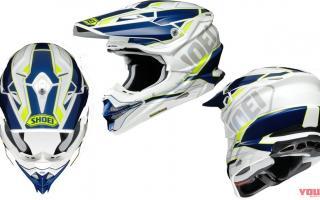 SHOEI推出VFX-WR越野头盔新色涂装