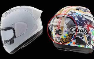 Arai发布RX-7X头盔扰流板 售价4400日元起