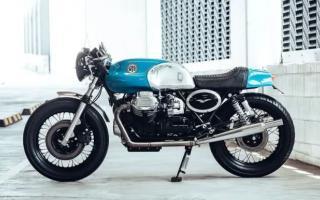 天空般蔚蓝的复古情怀——Moto Guzzi 850 T3