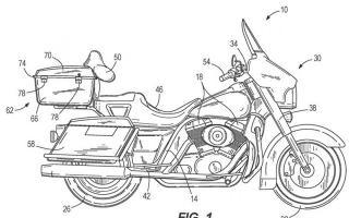 哈雷戴维森新专利:自动平衡摩托车技术减轻骑士负担
