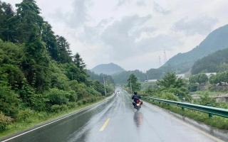 雨中穿黄山—CBF190X 1200公里摩游记2