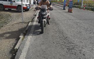 """骑着200cc的""""伪拉力"""",他去了趟西藏!"""