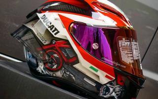 AGV最漂亮的头盔 Pista GP RR 杜卡迪揽途1260限量版