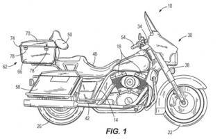 哈雷戴维森自平衡技术新专利曝光