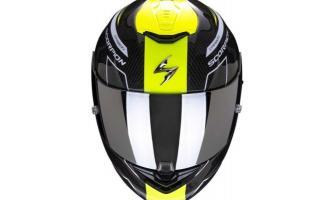 这个头盔好帅!蝎子EXO-ST1400碳纤维头盔上市
