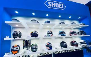 SHOEI摩博会发布两款新花色头盔,马奎斯亲笔签名免费送!