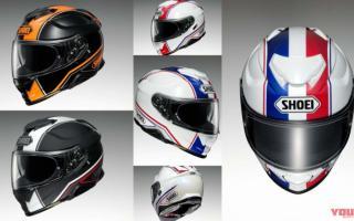 SHOEI推出「GT-Air II」帽款新色彩绘