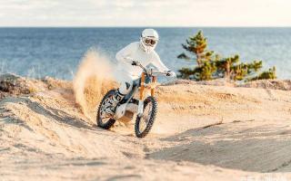 来自北欧极简设计,Cake Kalk2021款电动越野摩托车来袭,更帅气