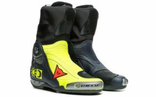 丹尼斯(Dainese)推出Valentino Rossi限量款车靴