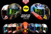 国产AVA(艾维爱)全盔G318,摩托车/电动车四季通用