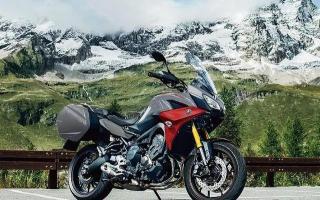 探索摩托车仪表的另一种可能,雅马哈2021款Tracer900旅行车!
