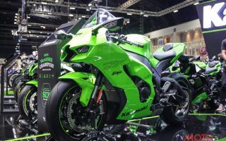 2021 川崎KAWASAKI Ninja ZX-10RR实车鉴赏:空力加持的翠绿上忍