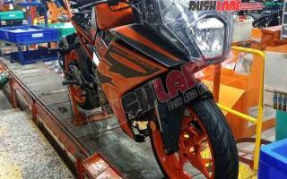KTM新款RC 200显露真容,将成为RC跑车家族的新脸谱