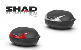 SHAD发布全新SH47尾箱 可容纳两顶头盔