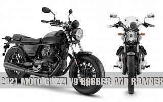 摩托古兹 Moto Guzzi「V9 Bobber/Roamer」改款亮相!