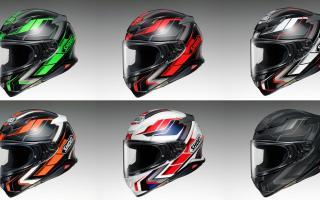 SHOEI推出「Z-8」头盔PROLOGUE新色