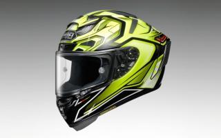 SHOEI追加「X-Fourteen」头盔 AERODYNE彩绘限量新色