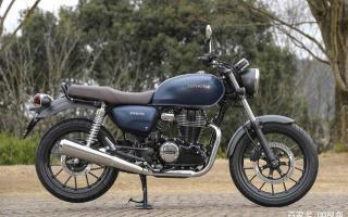 印度设计返销日本,本田日本推复古摩托GB350,配色略有调整