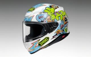 SHOEI推出「Z-8」帽款MURAL限量彩绘