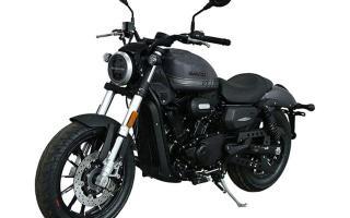 哈雷摩托携手钱江推小排量摩托,V型双缸最大30马力,标配ABS
