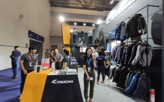 日本RS TAICHI骑行服装备品牌展台摩博会回顾
