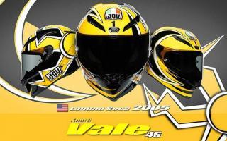 向光荣历史致敬!AGV推出Pista GP RR VR46「Laguna Seca 2005」纪念彩绘