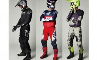 FOX推出2021年春季新款越野服饰!