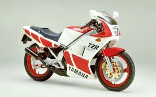 车型历史图库:雅马哈Yamaha TZR250 第一代