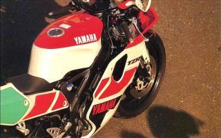 车型历史图库:雅马哈Yamaha TZR250 第三代 最终型