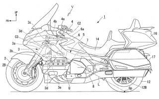 【原创翻译】本田HONDA新专利曝光,正在开发摩托车转向辅助系统,首款车型或将是本田金翼。
