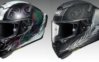 SHOEI推出X-Fourteen头盔「KUJAKU」新色