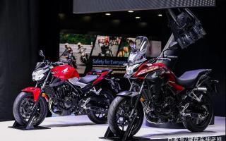 本田国产中排量新车CB400X/F首秀,参数公布,即将开启预售