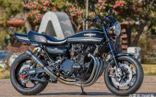 全方位定制升级,川崎Z1摩托专业定制改装,感受改装魅力