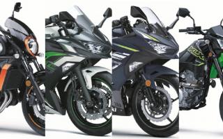 川崎KAWASAKI 2022款「Ninja 400/650/Vulcan S/KLX300」登场