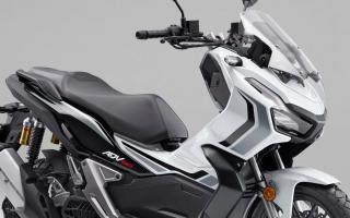本田HONDA推出2021款「ADV150」限量玫瑰白新色