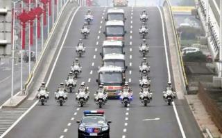 国宾护卫队摩托车解读 英雄的最高礼遇