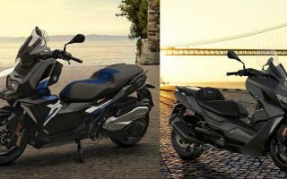 德裔跨界运动踏板摩托车 宝马BMW「C400X/C400GT」