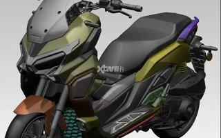 全新国产ADV踏板车曝光 SRMAX同款动力