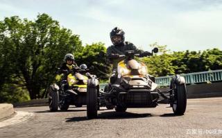 适合全地形路面,Can-AM倒三轮摩托Ryker升级,900cc三缸动力