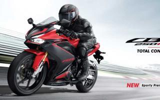 2022 本田HONDA CBR250RR新色发表:红黑彩绘上身,双缸待转王更有型!