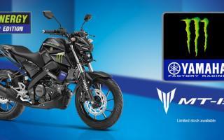 2021 雅马哈YAMAHA MT-15 MotoGP Edition新色发表:暗夜行者魔爪上身!