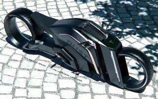 特斯拉无轮毂摩托车