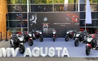 摩托界法拉利 MV Agusta首批大贸车交付