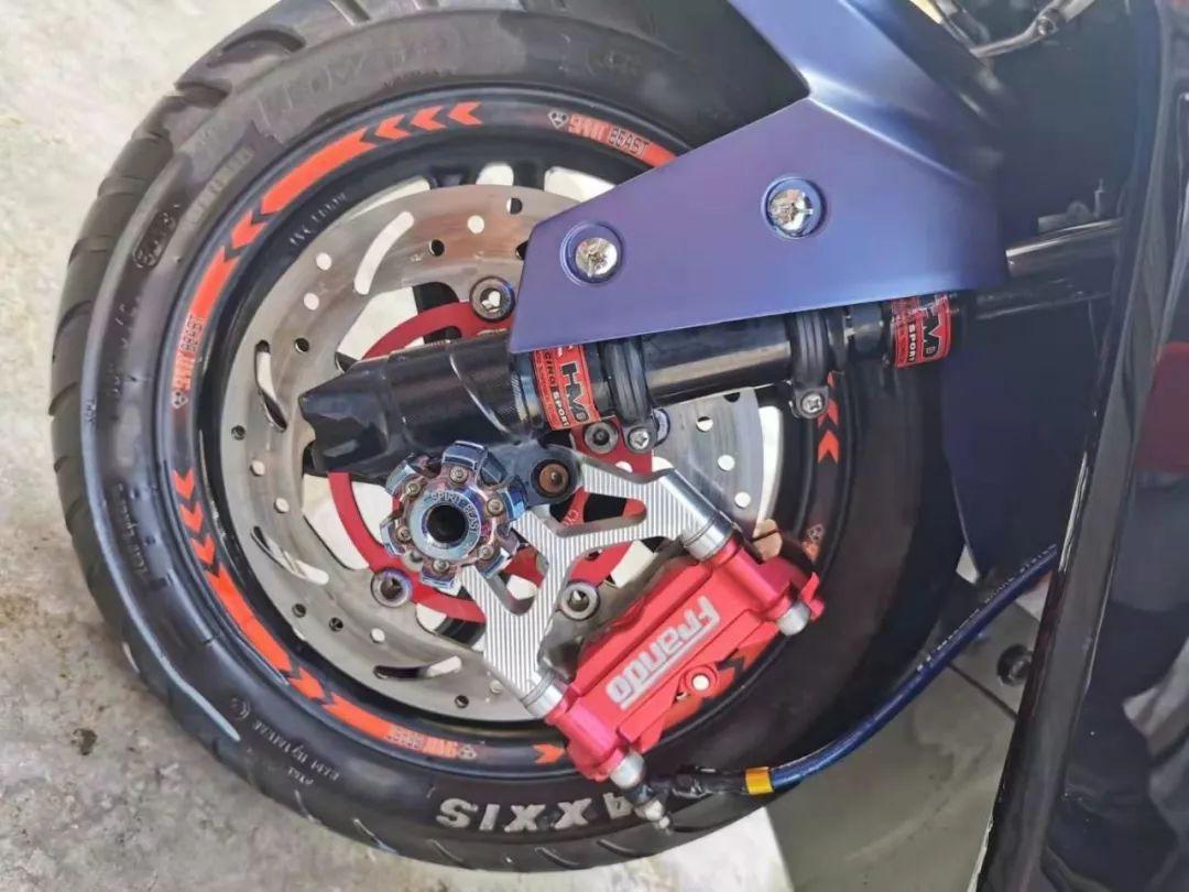 让小踏板不一样,USR125的改装案例分享-第5张图片-春风行摩托车之家