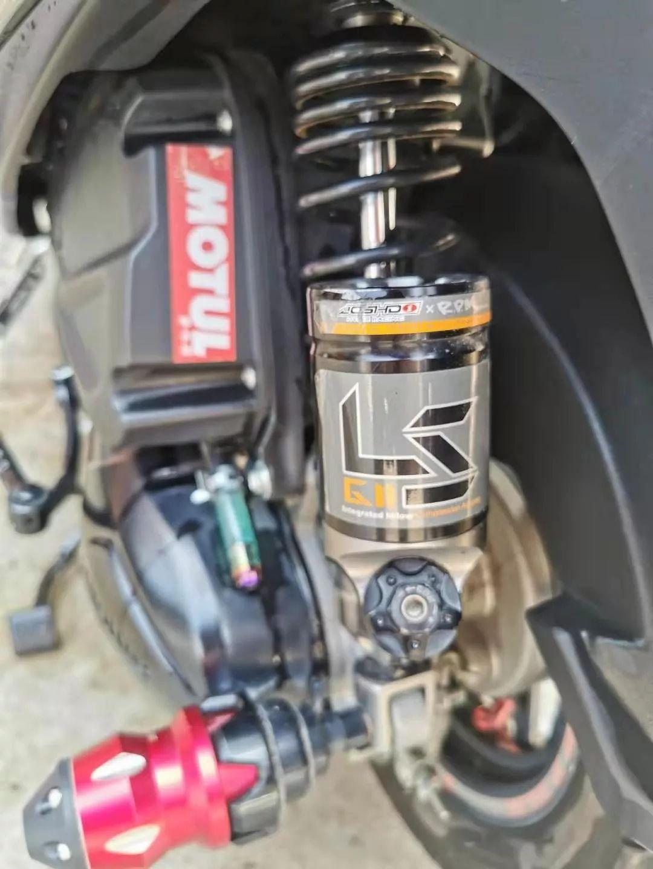 让小踏板不一样,USR125的改装案例分享-第4张图片-春风行摩托车之家